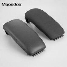 1Pc Car Center Console Armrest Lid Latch Leather Sabre Black Cloth Cover ABS 8P0864245P 8P0864245 For Audi A3 S3 8P 2003-2012