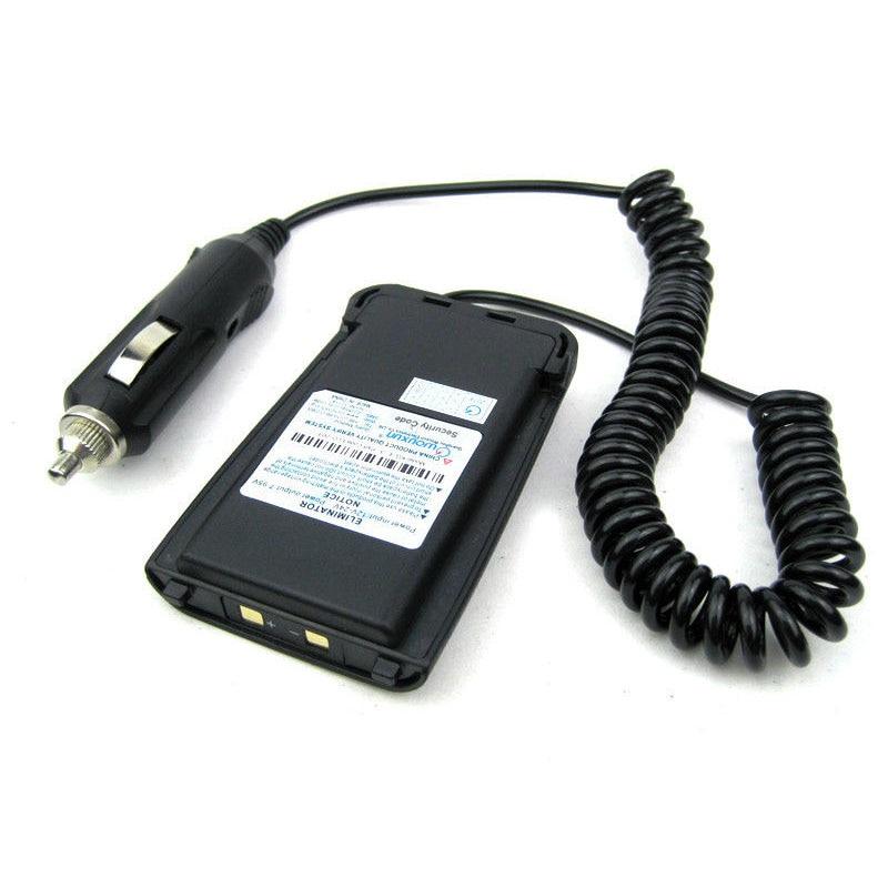 Original tout Neuf Chargeur De Voiture Batterie Eliminator Adaptateur pour Wouxun KG-UV8D KG-UV8D Plus Two Way Radio Talkie Walkie