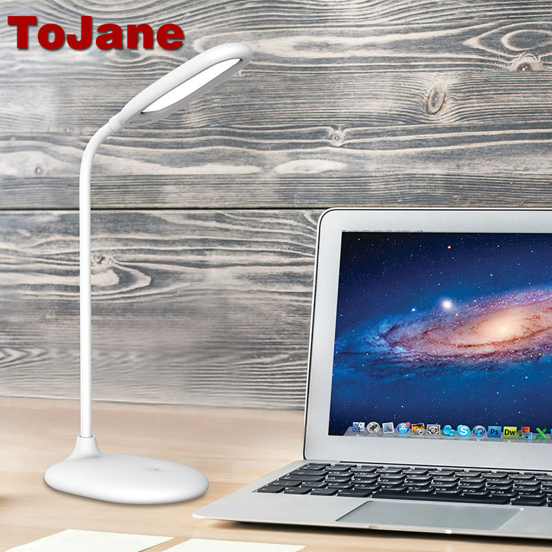 Lâmpadas de Mesa desk lamp 3 níveis de Power : 5w, g Led Reading Lamp