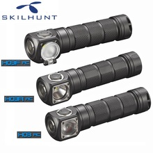 2018 Skilhunt H03 H03R H03F RC Led Headlamp Lampe Frontale Cree XML1200Lm HeadLight for Hunting Fishing Camping by 18650 Battery