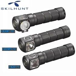 2018 Skilhunt H03 H03R H03F RC Led Scheinwerfer Lampe Frontale Cree XML1200Lm Scheinwerfer für Jagd Angeln Camping durch 18650 Batterie