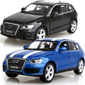 Free Shipping New AUDI Q5 1:32 Diecast Vehicle Car Model Toy Collection With Pull Back For Baby Toy Car Gifts Collection