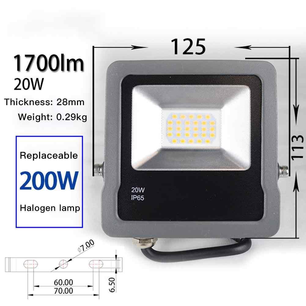 10W/30W Billboard Lights Waterproof IP65 Spotlights LED Lawn Floodlights for Outdoors