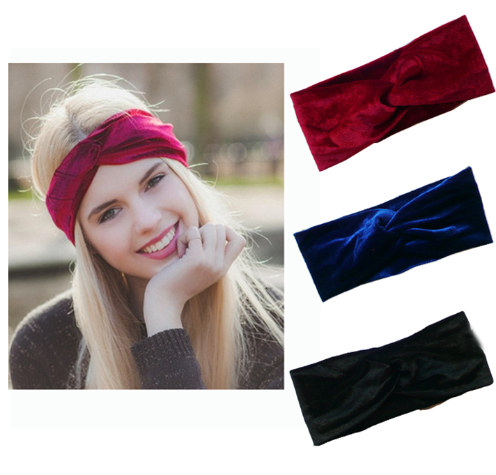 Velvet Twist Headband Women Earmuffs Earwarmers Noble Scrunchy Twist Hair Band Turban Headband Bandana Bandage On Head For Women fpv mini 5 8g 150ch mini fpv receiver uvc video downlink otg vr android phone