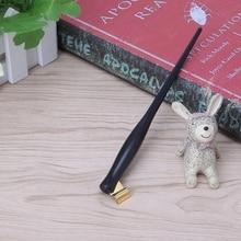 Английская каллиграфия ручка медный оттиск с письменами старинная перьевая ручка косой каллиграфическая ручка Повторное заполнение 10166