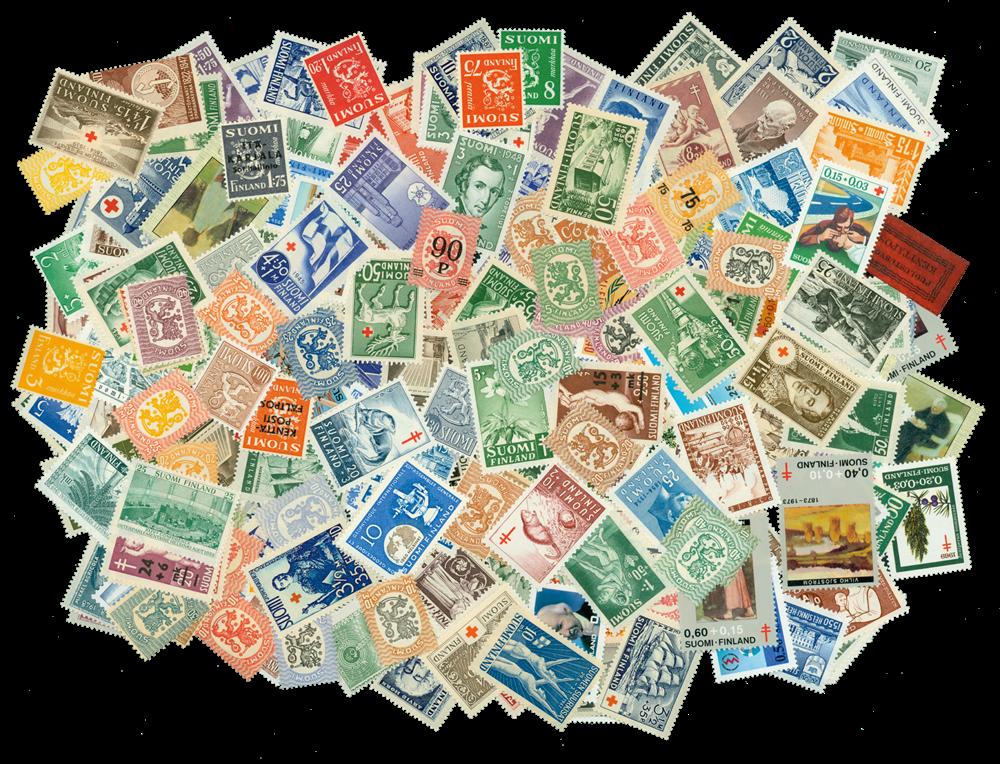 Acheter Lot 226 Pcs Nouveau Finlande Eupean Orifinal timbres Pas de répétition timbre bon pour la collecte de collection stamps fiable fournisseurs