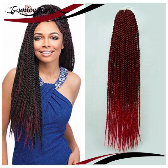 Fashion Free Shipping 1piecelot 20 24inches Crochet Braid Hair