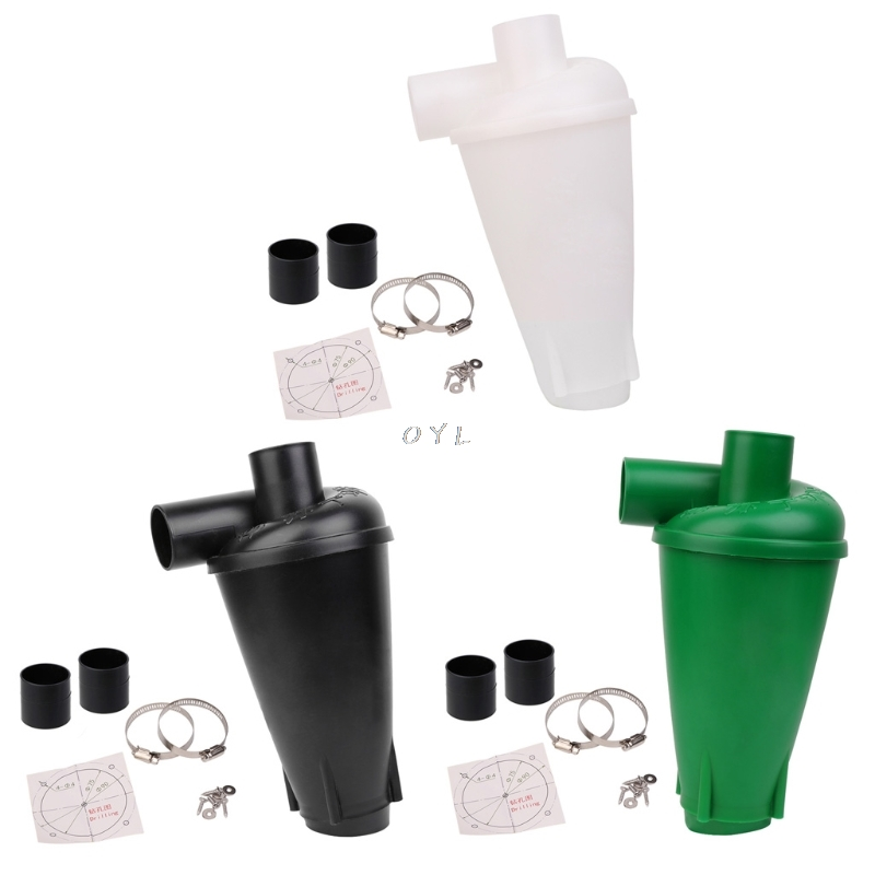 Cyclone Dust Collector Filter Turbocharged Cyclone Without Flange Base Set Tool newest L29k