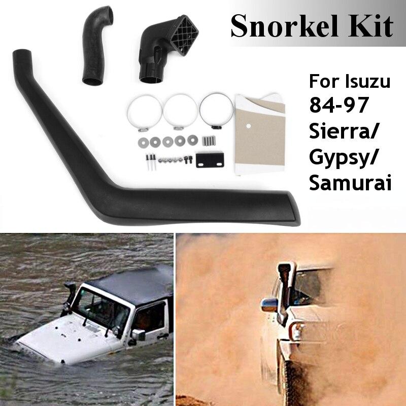 Car Snorkel Kit For SUZUKI Sierra/Samurai/Gypsy 84-97 S5051A ABS Plastic Air Intakes Parts Set