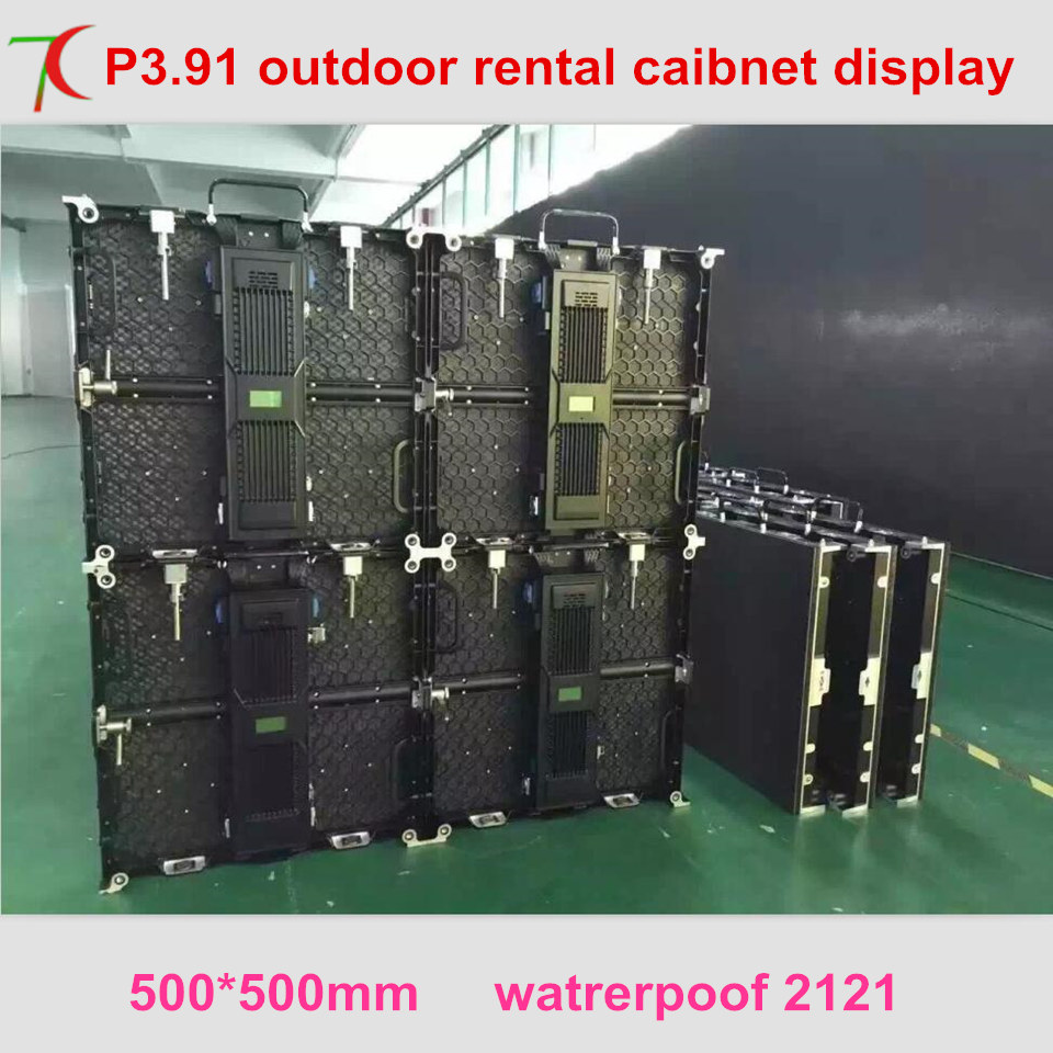 outdoor video panels segment led display panel electronic display, Renting stage full color display screen ...