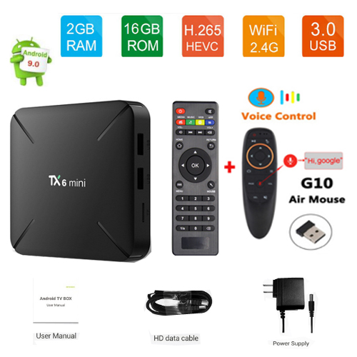 Details about Tanix TX6 MINI TV Box android 9 Allwinner H6 2GB 16GB 2 4GHz  WiFi Support 4K