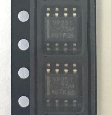 Image 2 - Free shipping 50pcs/lot SN65HVD251DR SN65HVD251 65HVD251 VP251 SOP8-in Integrated Circuits from Electronic Components & Supplies