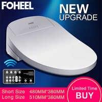 FOHEEL Intelligent Toilet Seat Electric Bidet Cover Smart Bidet heated toilet seat Led Light Wc smart toilet seat lid