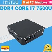 16g ddr4 núcleo i7 7500u minipc barebone windows 10 pro i5 7200u intel hd gráficos 620 hystou nettop i3 dhlfree windows mini pc i3