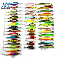 2019 Minnow JIADIAONI 43pcs/lot Fly Fishing Lure Set China Hard Bait Jia Lure Wobbler Carp 6 Models Fishing Tackle wholesale