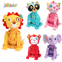 Jollybaby Stuffed Plush Backpacks With Anti-lost String Walking Wings Soft Doll Baby Boys Girls Adjustable Belt Kid Toys