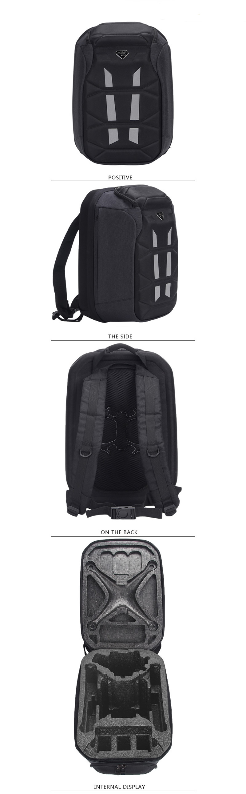DJI phantom3 PHANTOM4 Pro Series Universal Backpack Drone Logo Storage Bag for dji Drone Quadcopter Fashion Protection Knapsack