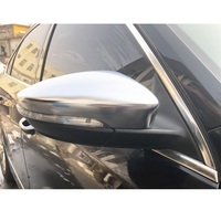 for VW Volkswagen Passat CC B7 Beetle EOS Scirocco R Jetta GLI Matt Chromed Side Wing Mirror Cover Replacement Accessories