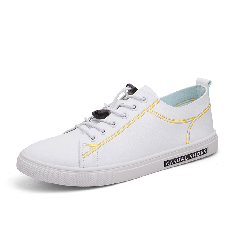 Blanco Hombre Casual Negro Up De Hombres Estudiantes Negro white Gold Pisos Otoño Zapatos blanco Lace vwqqpx