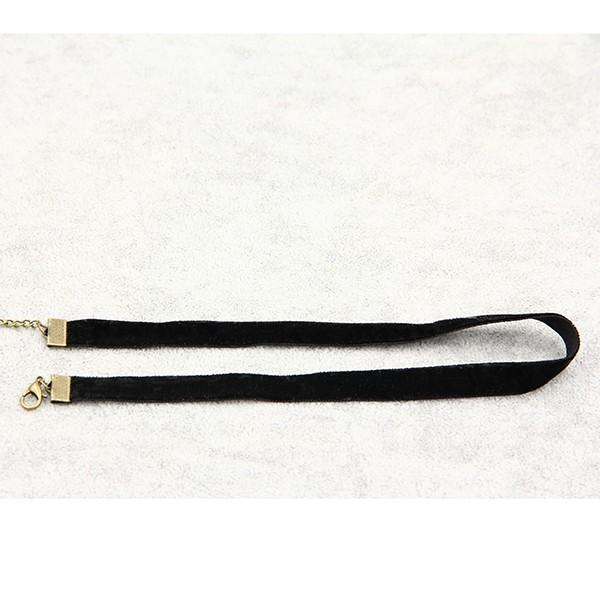 Black Punk  Coseplay Velvet Collar