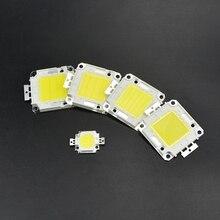 1 шт. Высокая мощность 10 Вт 20 Вт 30 Вт 50 Вт 100 Вт COB Интегрированный Светодиодный чип SMD DC 9 в 30 в 36 В для DIY прожектор светильник Точечный светильник лампа