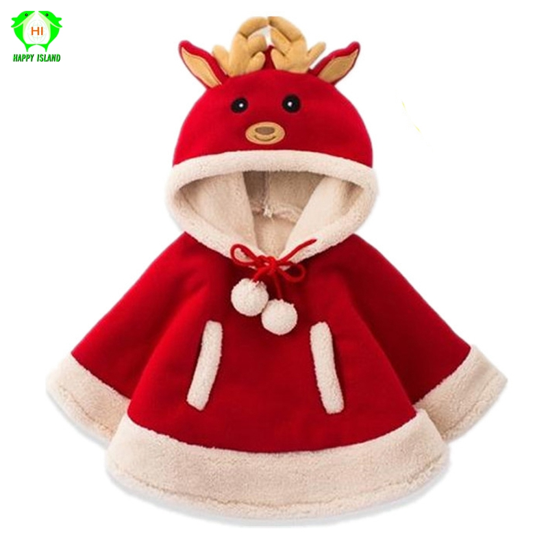 Children Christmas Santa Claus Cosplay Costumes Fancy Santa Cloak with Hat for 1T-15T Kids Winter Christmas Girls Costume Suit