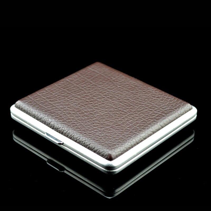 Boîte de stockage Portable créative joint de Cigarette anti-pression et humidité-étui de fumée Fine clips en métal et lignes de peau créatives