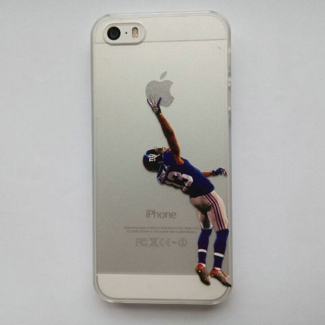sports shoes 49bf6 797bd US $4.5 |Clear Case for iphone 5 5s American Football Odell beckham jr  printed Phone Cover for iphone 5 5s on Aliexpress.com | Alibaba Group