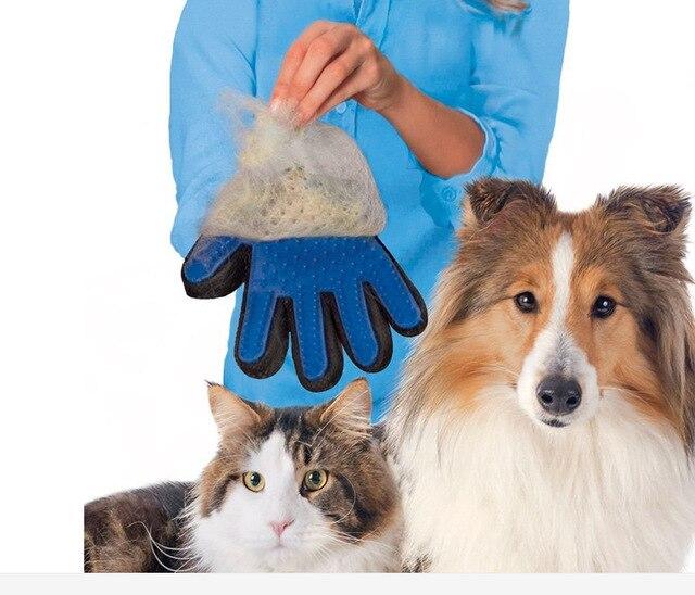 114b07b1d51a Venta al por mayor de productos para mascotas accesorios para perros gatos  guantes de masaje suave