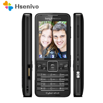 C901 100% Original Unlocked Sony Ericsson C901 Mobile Phone 2.2' 3G 5.0MP Bluetooth FM Radio Unlocked Cell Phone Free shipping