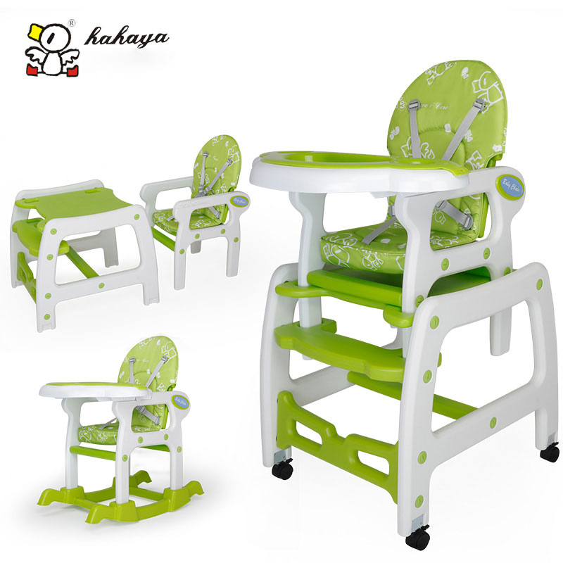 HHY  Multifunctional Highchairs Combined Plastic Baby  Table Chair Seat Chair Dining Table  And  Study Table And Chair