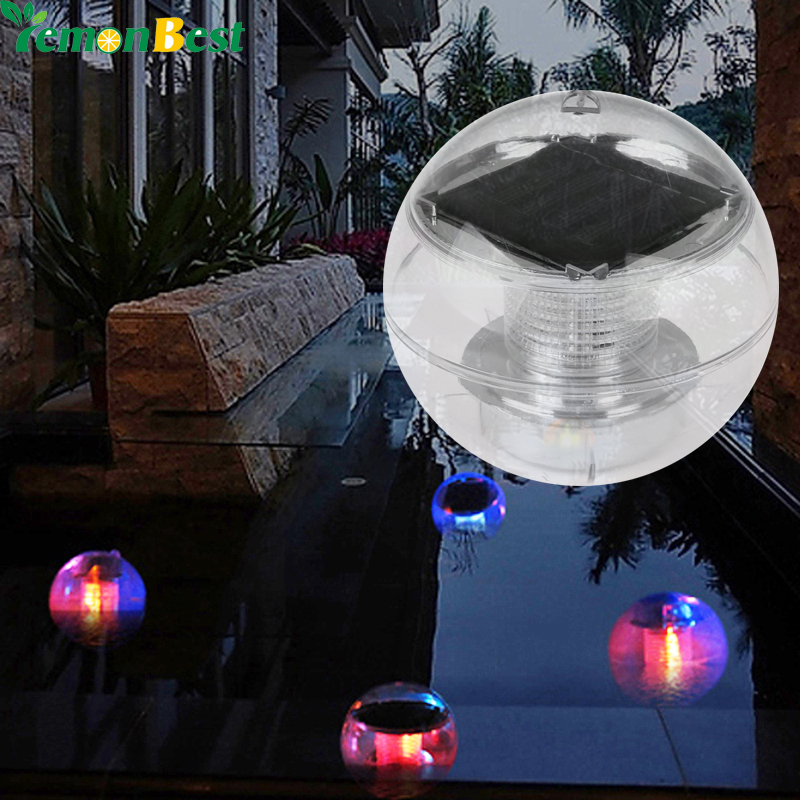 Waterproof rgb led floating light pool solar power lamp 2v 60ma waterproof rgb led floating light pool solar power lamp 2v 60ma outdoor garden pond landscape color changing night lights in solar lamps from lights mozeypictures Images