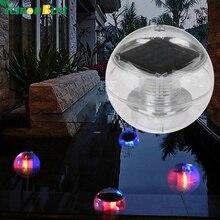 buy Waterproof RGB LED Floating Light Pool Solar Power Lamp 2V 60mA Outdoor Garden Pond Landscape Color Changing Night Lights,image LED lamps deals