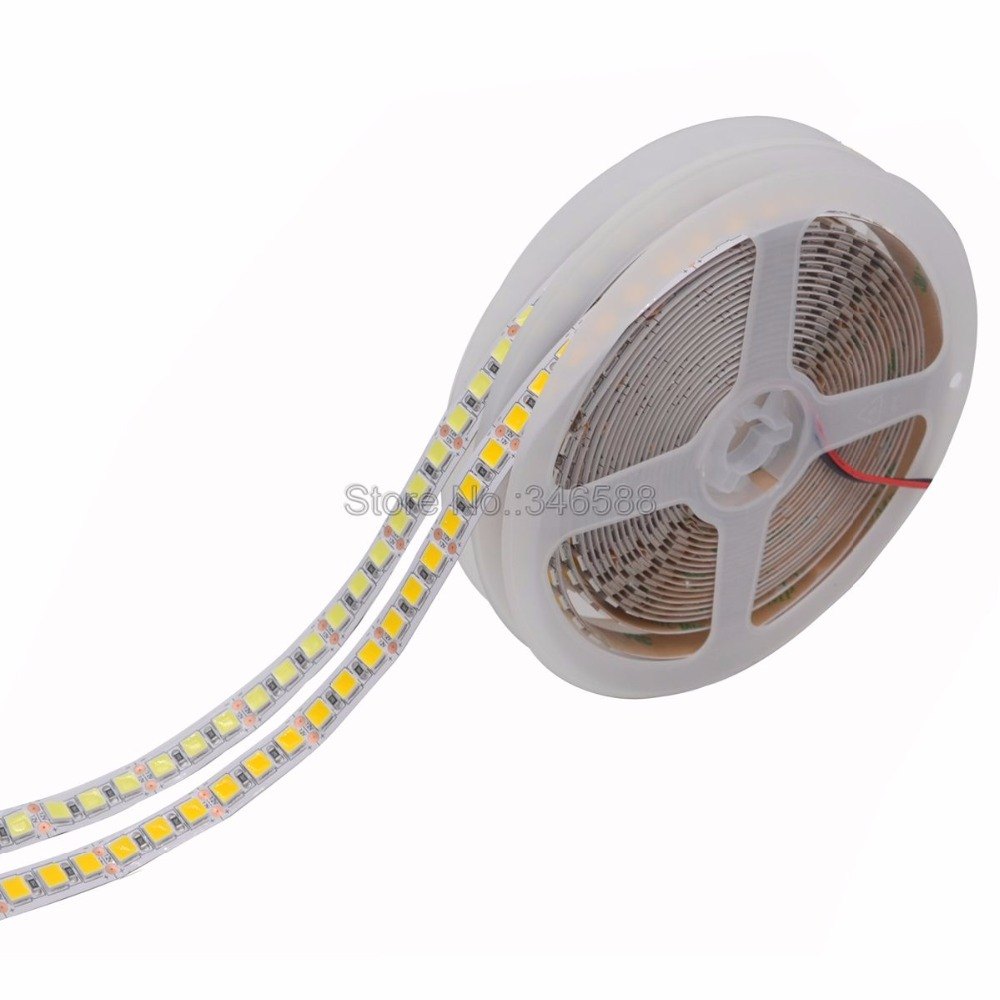 5M 600 LED 5054 LED Strip IP20 IP65 IP67 Waterproof DC12V Tape Brighter Than 5050 Cold White/Warm White/Ice Blue/Red/Green/Blue