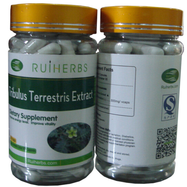 1Bottles Tribulus Terrestris Extract (90% Saponins) Capsule 500mg x 90counts free shipping