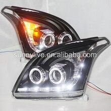 RHD version car light FOR Toyota Prado FJ120 LED front light V3