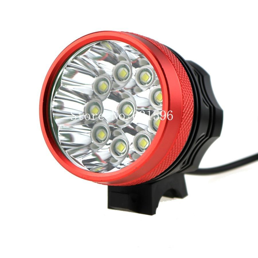 6000mAh Battery Pack 8.4V Charger T6 Bicycle Light 8400 Lumen LED Headlamp