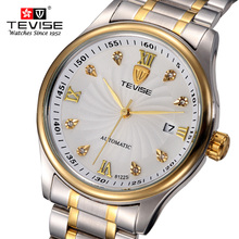 TEVISE Brand Hours Men's Mechanical Watch relojes hombre Men's Clock Relogio Masculino Military Sport Mens Casual Wristwatches beinuo relojes hombre relogio qz024 l