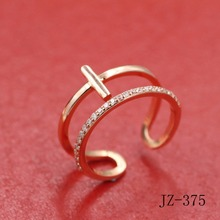 2017 vintage jewelry exquisite female character charm woman ring Fashionable women ring restoring ancient ways jz-375