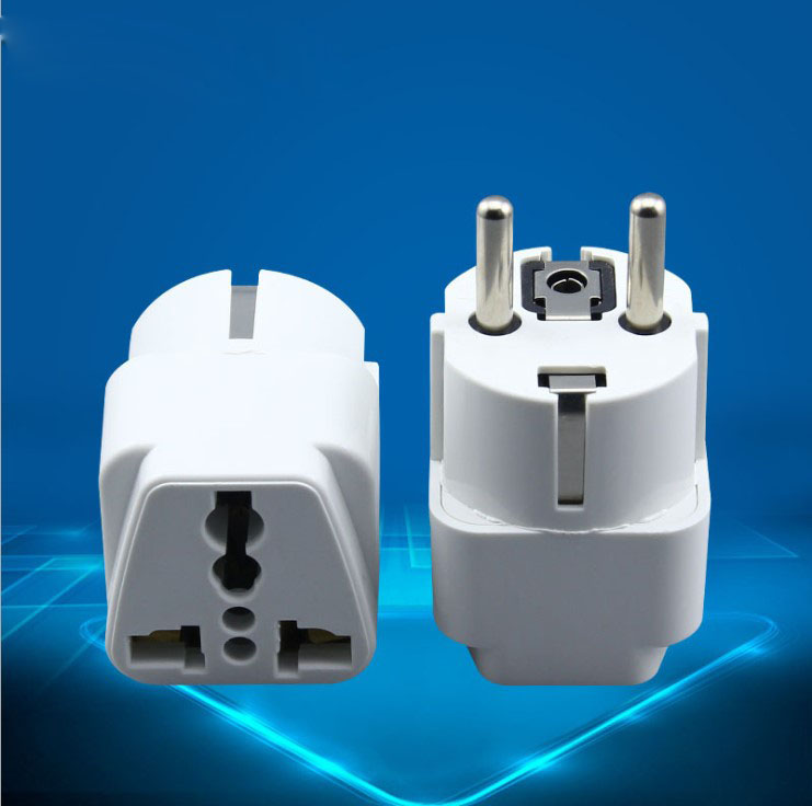 Germany Standard Conversion Plug Adapter European Diy Toy Manual Iron Accessories Travel Converter Conversion Plug