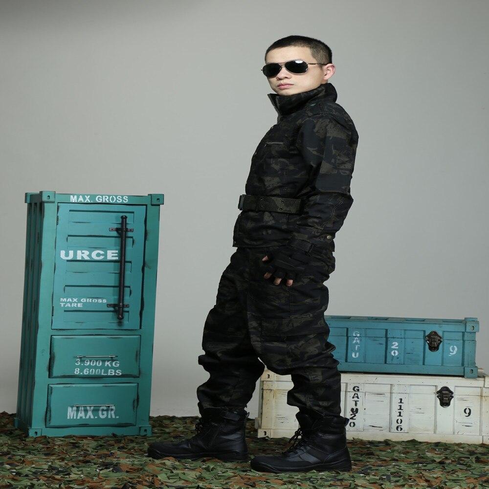 Mannen Camouflagepak Multicam Jachtkleding Tactische Uniformen - Sportkleding en accessoires - Foto 3