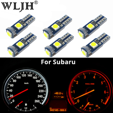 hot deal buy wljh 6x canbus t5 led lamp 73 74 3030 smd bulb instrument panel lights for subaru brz legacy tribeca outback forester impreza