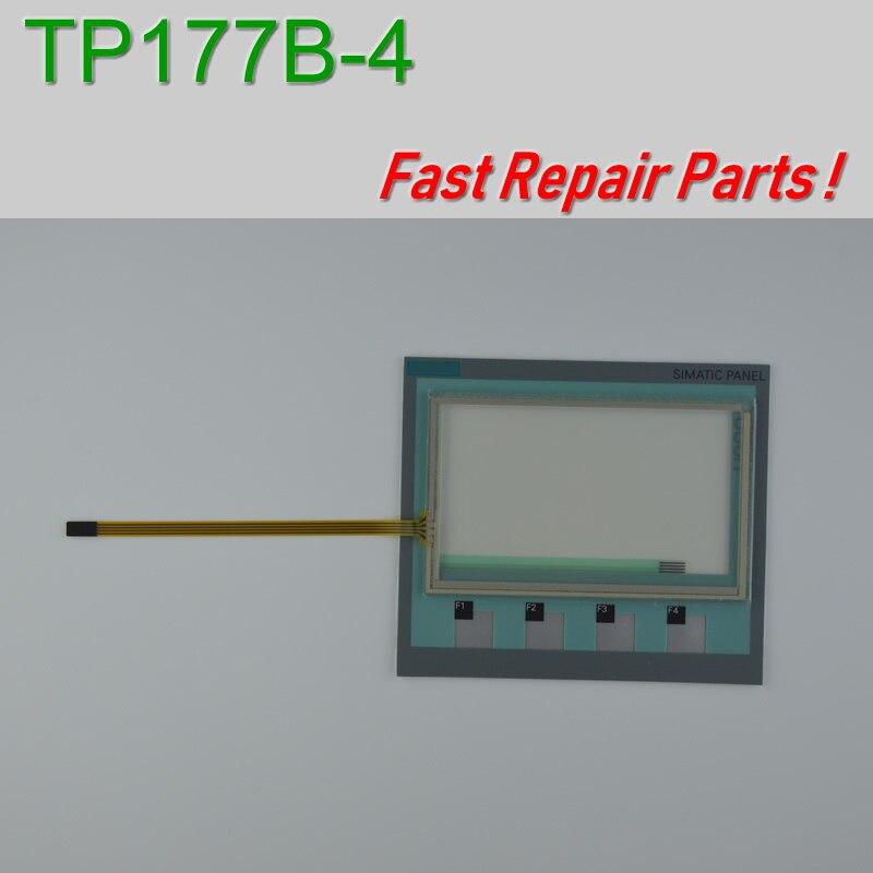TP177B 4 6AV6642 6AV6642 0BD01 3AX0 Touch Screen Glass Membrane Keypad for HMI Panel repair do