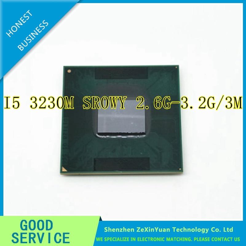 Core i5 3230M Mobile Laptop CPU Processor 2 6GHz 3MB SR0WY G2 988