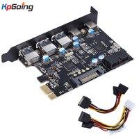 PCI Express PCI E Network Cards 1000Mbps Gigabit Ethernet 10/100/1000M 3 Port USB 3.0 LAN Adapter Converter Network Controller