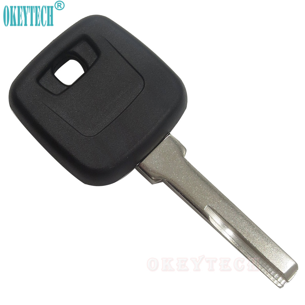 OkeyTech New <font><b>Replacement</b></font> <font><b>Key</b></font> Shell Fob Fit For <font><b>VOLVO</b></font> <font><b>S40</b></font> V40 S60 S80 XC70 Original Copy <font><b>Key</b></font> Blank HU56R Blade Car <font><b>Key</b></font> Case Cover image