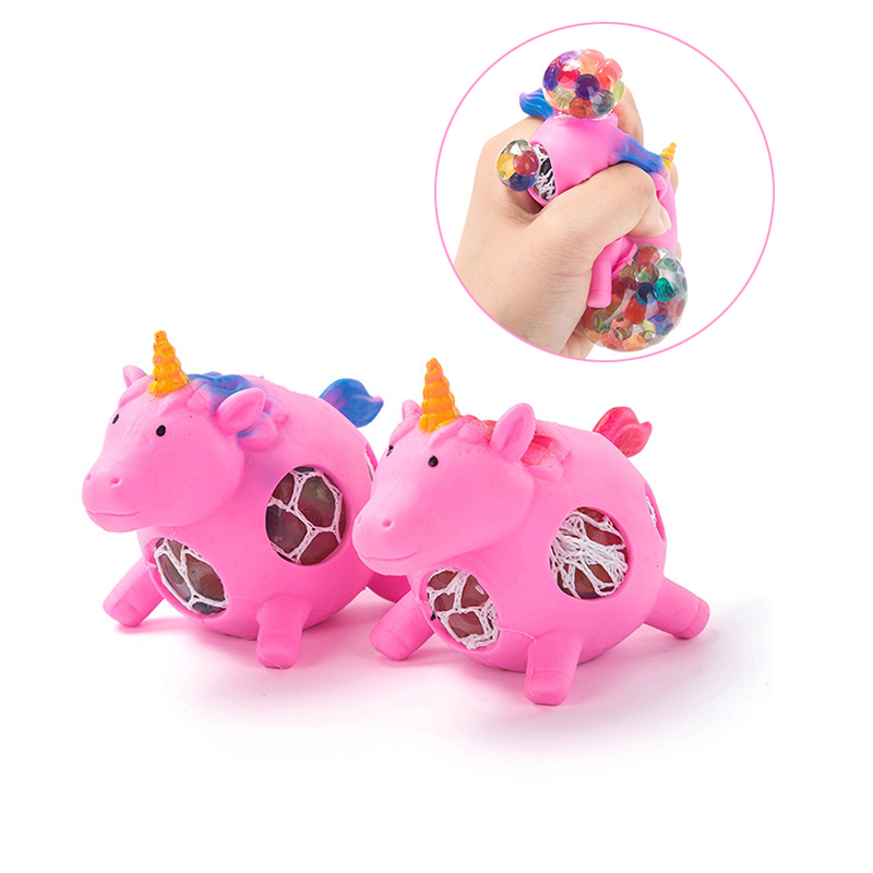 Responsible 1pcs Anti-stress Unicorn With Balls Mini Squishy Novelty Funny Ball Relieve Pressure Wreak Squishy Anti Stress Toy For Children Back To Search Resultstoys & Hobbies Novelty & Gag Toys