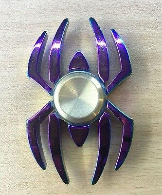 Cool Spider Fidget Hand Spinner Bearing Spiderman Stress Alloy Finger Focus Adult Kids Gifts Support Drop