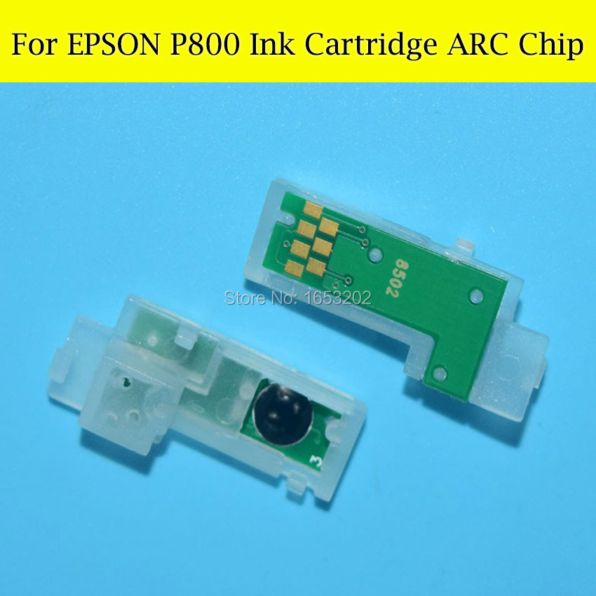 9 Color P800 Show Ink Level Permanent Chip For EPSON