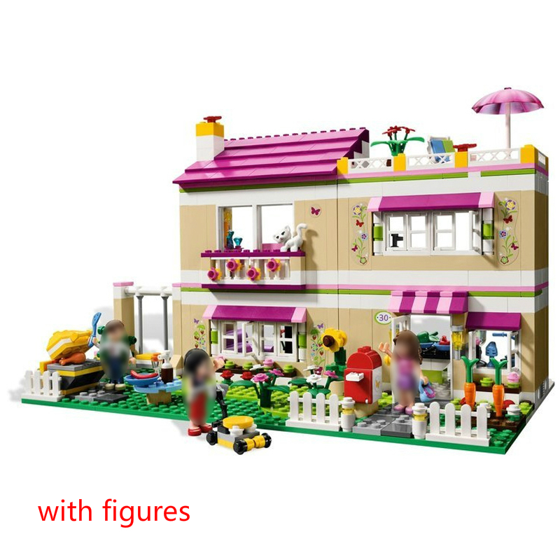 10164 Olivia s House Building Blocks Bricks Compatible with 3315 Friends Girls Gift Toys for Children